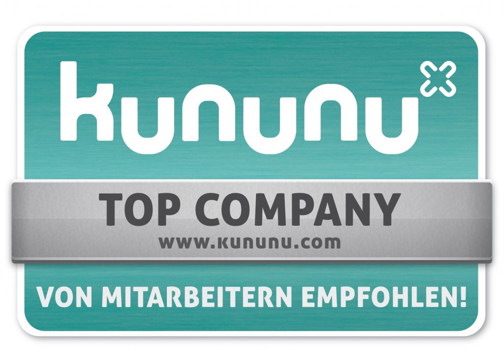 Wir sind knununu TOP Company